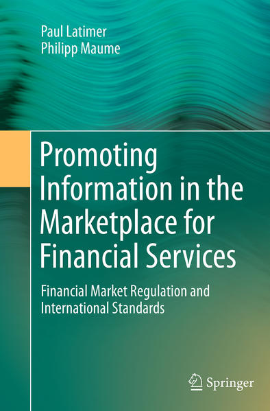 Promoting Information in the Marketplace for Financial Services - Coverbild