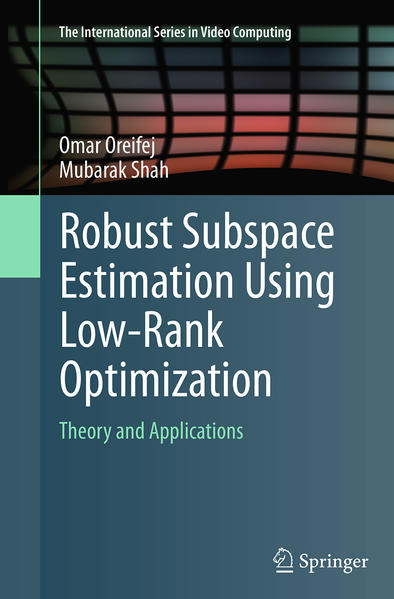Robust Subspace Estimation Using Low-Rank Optimization - Coverbild