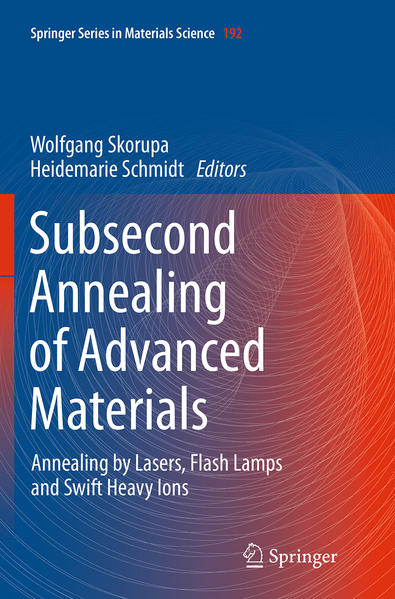 Subsecond Annealing of Advanced Materials - Coverbild