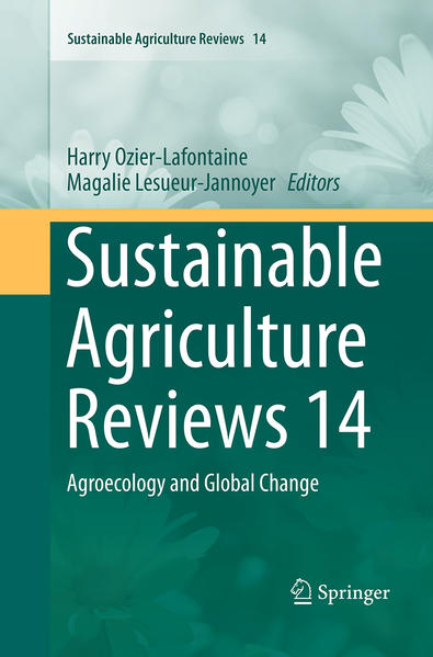 Sustainable Agriculture Reviews 14 - Coverbild