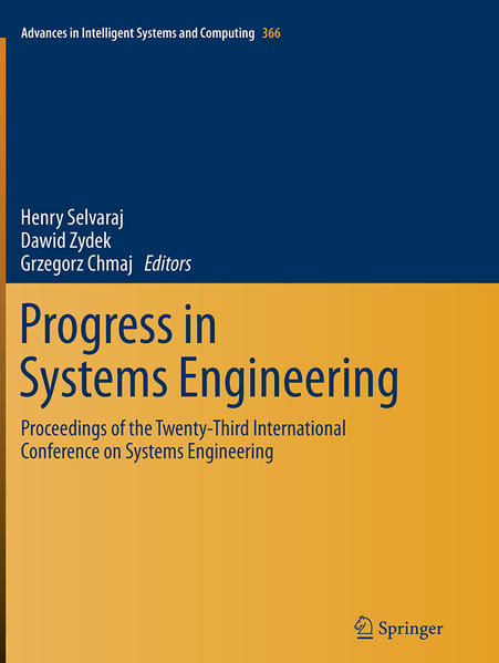 Progress in Systems Engineering - Coverbild