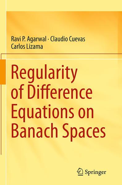 Regularity of Difference Equations on Banach Spaces - Coverbild