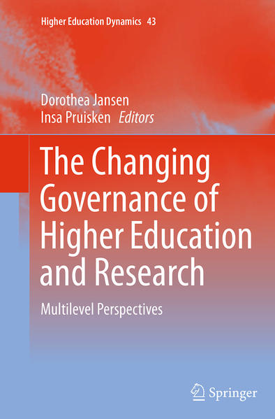 The Changing Governance of Higher Education and Research - Coverbild
