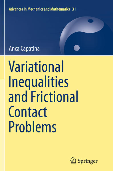 Variational Inequalities and Frictional Contact Problems - Coverbild
