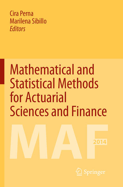 Mathematical and Statistical Methods for Actuarial Sciences and Finance - Coverbild