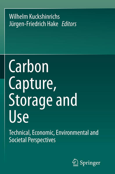 Carbon Capture, Storage and Use - Coverbild
