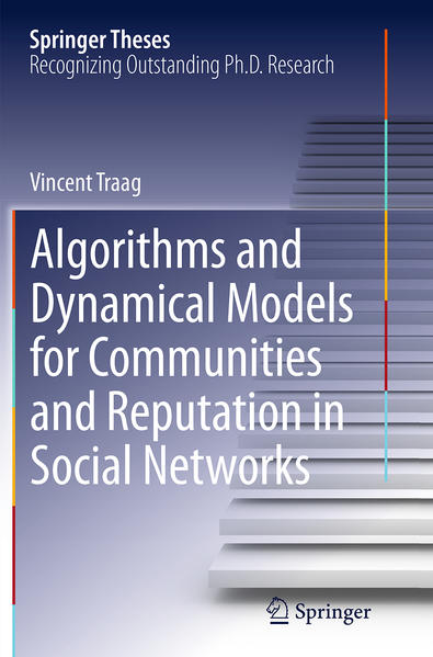 Algorithms and Dynamical Models for Communities and Reputation in Social Networks - Coverbild
