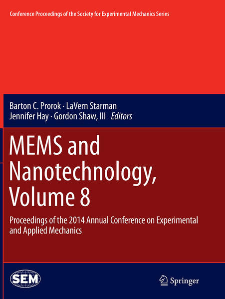 MEMS and Nanotechnology, Volume 8 - Coverbild