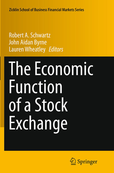 The Economic Function of a Stock Exchange - Coverbild