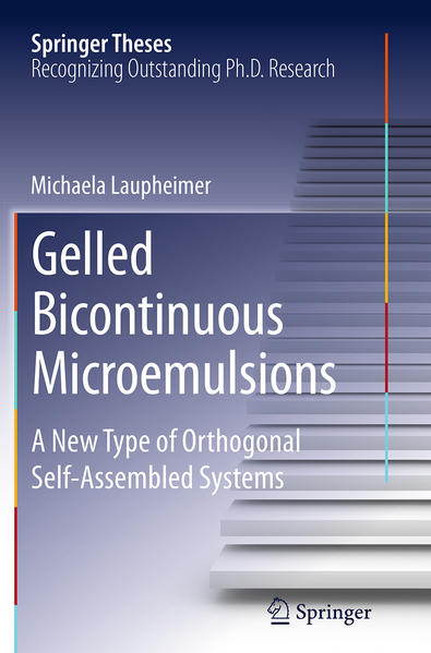 Gelled Bicontinuous Microemulsions - Coverbild