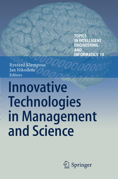 Innovative Technologies in Management and Science - Coverbild
