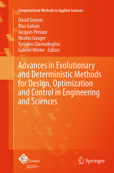 Advances in Evolutionary and Deterministic Methods for Design, Optimization and Control in Engineering and Sciences - Coverbild