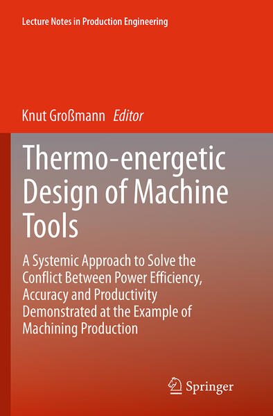 Thermo-energetic Design of Machine Tools - Coverbild