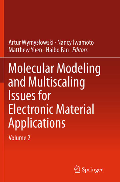 Molecular Modeling and Multiscaling Issues for Electronic Material Applications - Coverbild