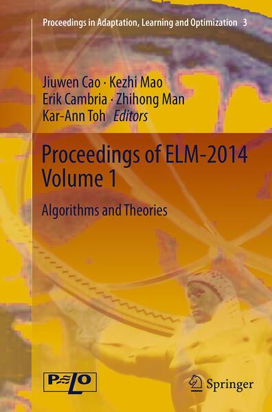 Proceedings of ELM-2014 Volume 1 - Coverbild