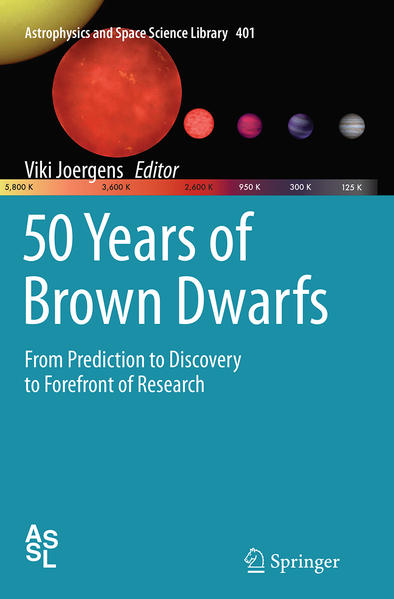 50 Years of Brown Dwarfs - Coverbild
