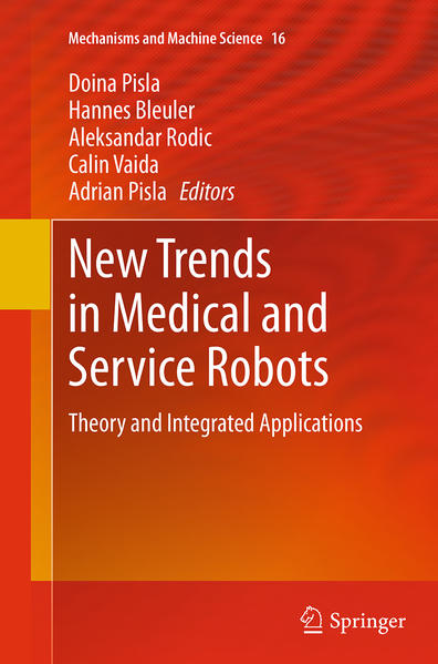 New Trends in Medical and Service Robots - Coverbild
