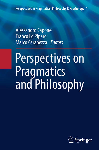 Perspectives on Pragmatics and Philosophy - Coverbild