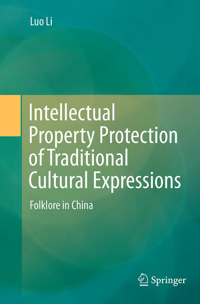 Intellectual Property Protection of Traditional Cultural Expressions - Coverbild