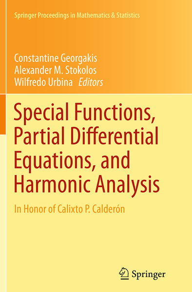 Special Functions, Partial Differential Equations, and Harmonic Analysis - Coverbild