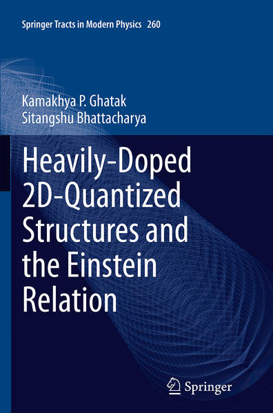 Heavily-Doped 2D-Quantized Structures and the Einstein Relation - Coverbild