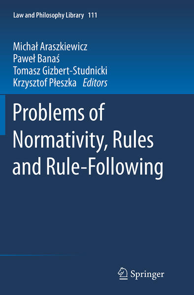 Problems of Normativity, Rules and Rule-Following - Coverbild