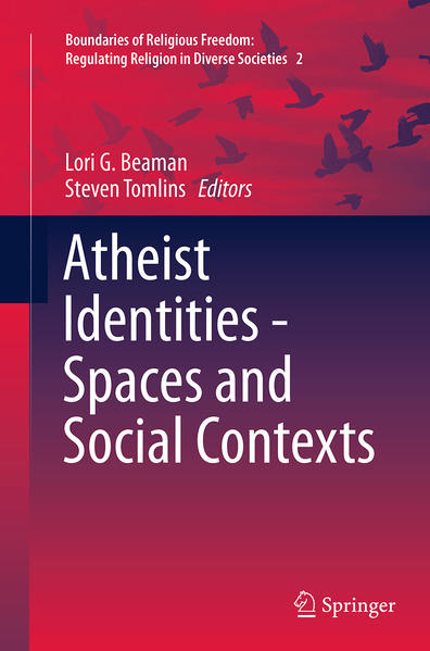 Atheist Identities - Spaces and Social Contexts - Coverbild