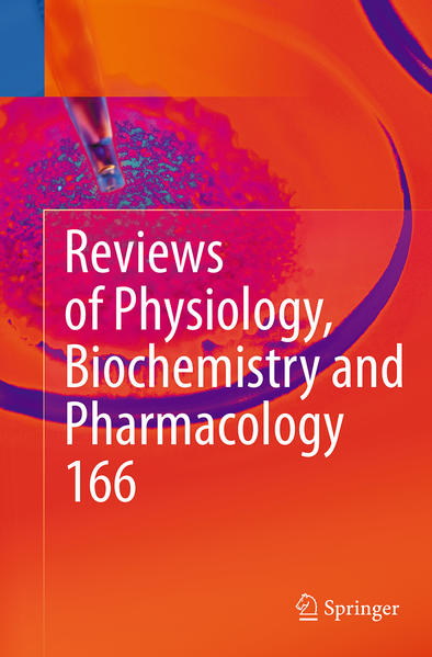 Reviews of Physiology, Biochemistry and Pharmacology 166 - Coverbild