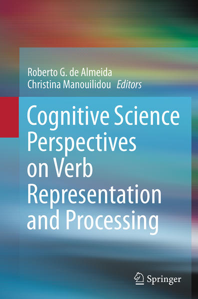 Cognitive Science Perspectives on Verb Representation and Processing - Coverbild