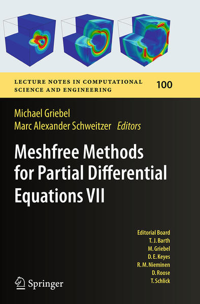 Meshfree Methods for Partial Differential Equations VII - Coverbild
