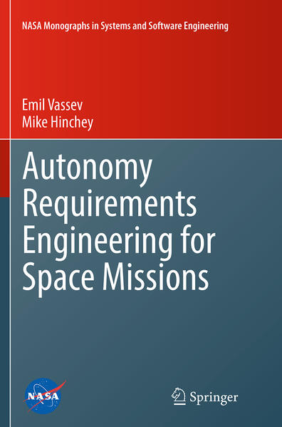 Autonomy Requirements Engineering for Space Missions - Coverbild