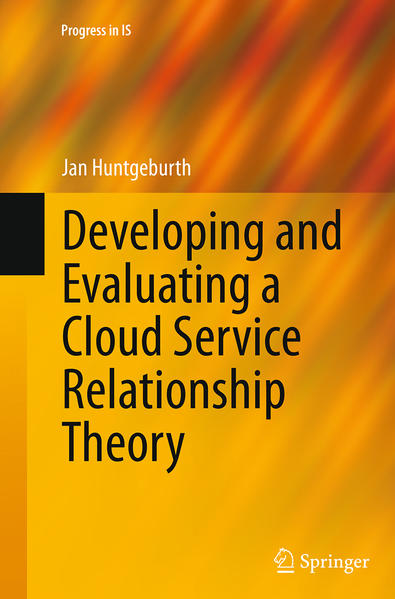 Developing and Evaluating a Cloud Service Relationship Theory - Coverbild