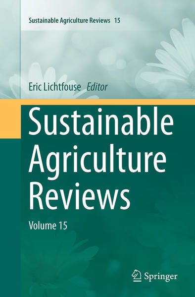 Sustainable Agriculture Reviews - Coverbild