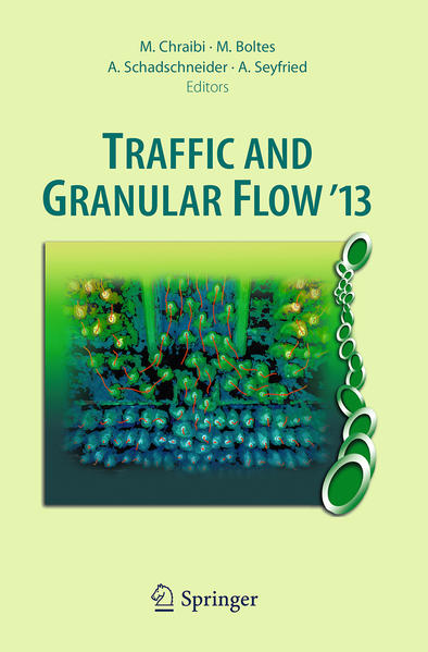 Traffic and Granular Flow '13 - Coverbild