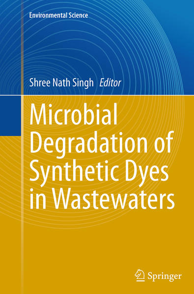 Microbial Degradation of Synthetic Dyes in Wastewaters - Coverbild