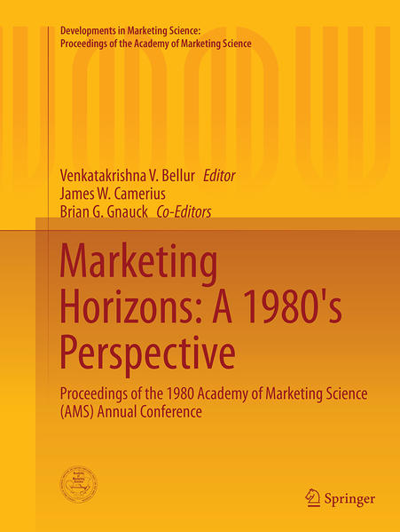 Marketing Horizons: A 1980's Perspective - Coverbild