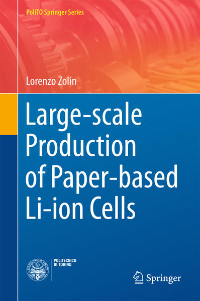 Large-scale Production of Paper-based Li-ion Cells  - Coverbild