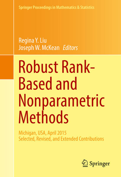 Robust Rank-Based and Nonparametric Methods - Coverbild