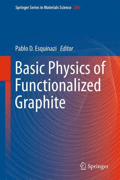 Basic Physics of Functionalized Graphite - Coverbild