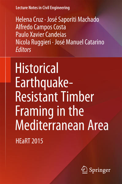Historical Earthquake-Resistant Timber Framing in the Mediterranean Area - Coverbild