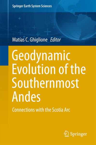 Geodynamic Evolution of the Southernmost Andes - Coverbild
