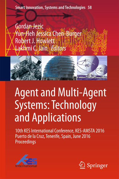 Agent and Multi-Agent Systems: Technology and Applications - Coverbild