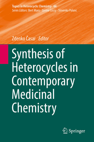 Synthesis of Heterocycles in Contemporary Medicinal Chemistry - Coverbild