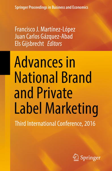 Advances in National Brand and Private Label Marketing - Coverbild
