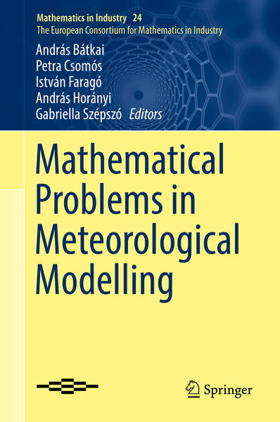 Mathematical Problems in Meteorological Modelling - Coverbild