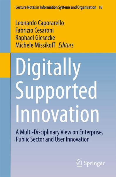 Digitally Supported Innovation - Coverbild