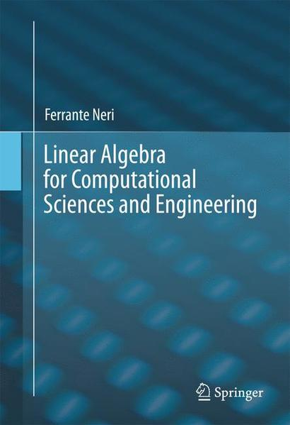 Linear Algebra for Computational Sciences and Engineering - Coverbild