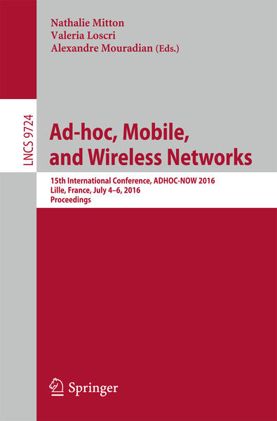 Ad-hoc, Mobile, and Wireless Networks - Coverbild
