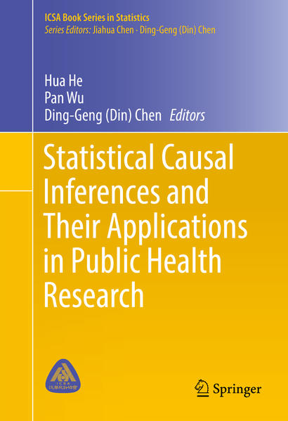 Statistical Causal Inferences and Their Applications in Public Health Research - Coverbild