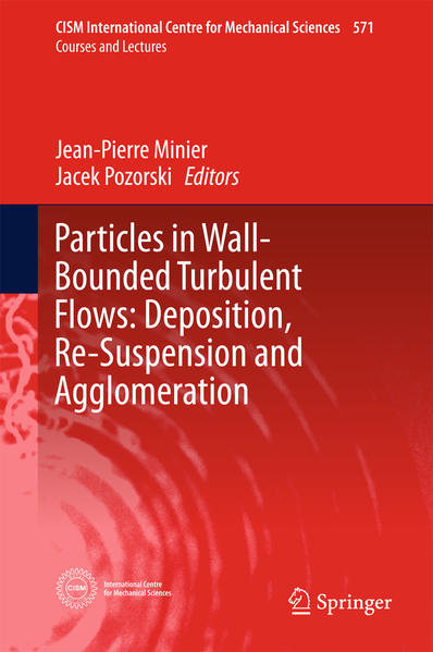 Particles in Wall-Bounded Turbulent Flows: Deposition, Re-Suspension and Agglomeration - Coverbild